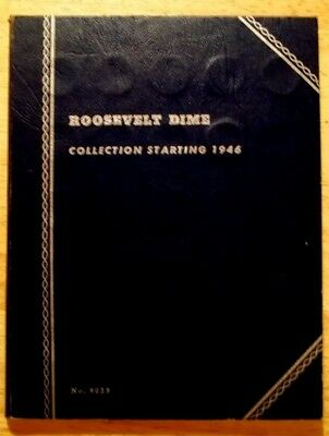 Roosevelt Dime Collection, Complete, 48 Coins of varying grades, Silver's low...