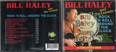 Bill Haley And The Comets Cd 14 Greatest Hits Rock`n Roll Around The Clock