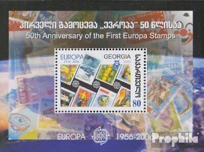 georgia Block35 (complete issue) unmounted mint / never hinged 2006 50 years Eur