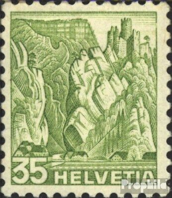 Switzerland 304y fine used / cancelled 1936 Landscapes