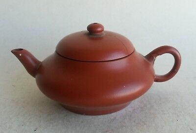 Quality Antique 18th/19th Century Chinese Yixing Teapot Calligraphy Marked