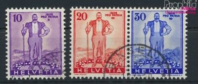 Switzerland A294-A296 (complete.issue) used 1936 Pro Patria (9046100