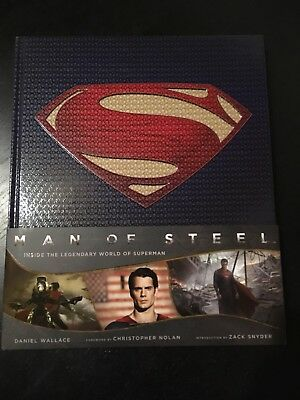 Man Of Steel The Art And Making of The Film HC Hardcover Artbook Titan Superman