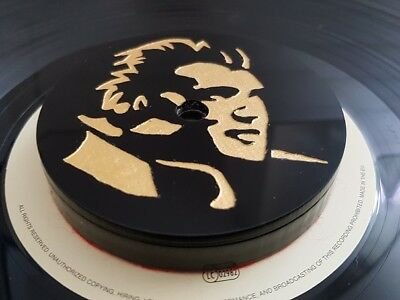 Elvis themed Carbon Steel Record turntable stabilizer weight. Approx 360 grams