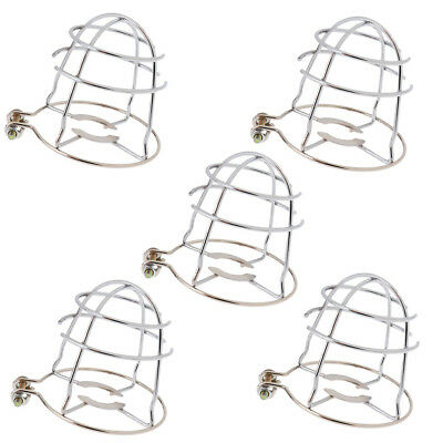 5x Strong Iron Fire Sprinkler Head Protective Guard Protection Cover Screen