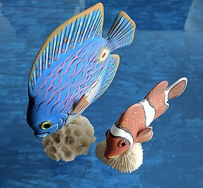 Angel Fish and Clown Fish Collectible, Decorative Accessories, Fun! $5.99