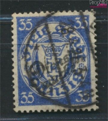 Gdansk D48 tested fine used / cancelled 1924 service mark (9049050