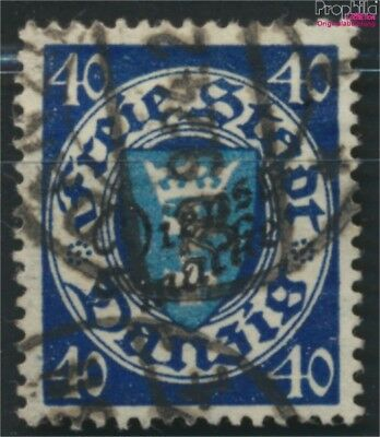 Gdansk D49b tested fine used / cancelled 1924 service mark (9049049
