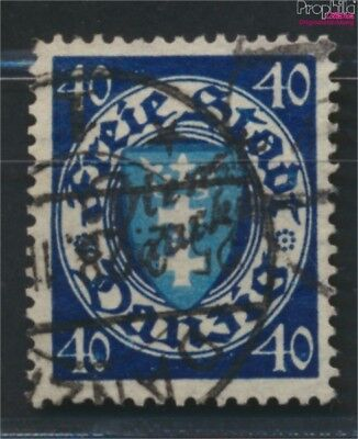 Gdansk D49b tested fine used / cancelled 1924 service mark (9049048