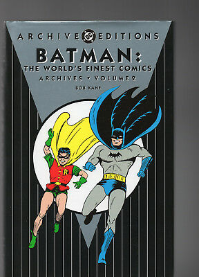 DC Archives Batman worlds finest Vol 2/Vf+/- great cond/best value/Free shipping