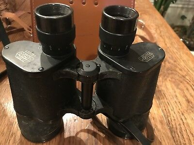 WW2 German E.Leitz Wetzlar 7 x 50 Marsept Binocular with Case