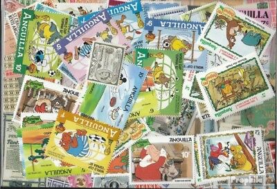 Anguilla 100 different stamps