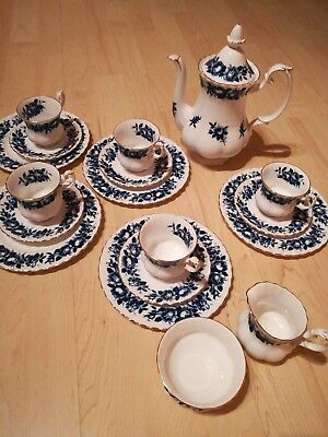 Kaffeeservice Royal Albert Aristokrat Bone China England