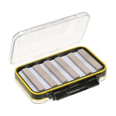 Large Double Sided Waterproof Plastic Fly Fishing Box For Storing 270 Flies
