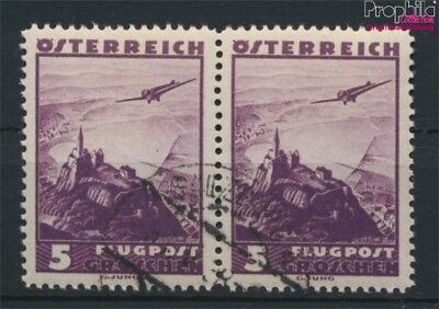 Austria 598II, white Point to the 5 used 1935 Airmail-issue (9057699