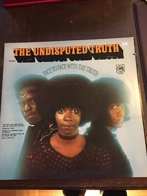 The Undisputed Truth LP Face To Face With The Truth