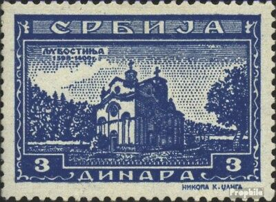Serbia (German.cast.2.world.) 76 unmounted mint / never hinged 1942 serbian. Klo