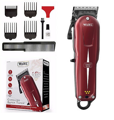 Wahl Professional 5 Star Super Taper Cordless Rechargeable 100-240V Uk Plug
