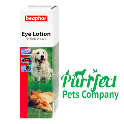 Beaphar Eye Lotion for Cats & Dogs  Soothes Irritation