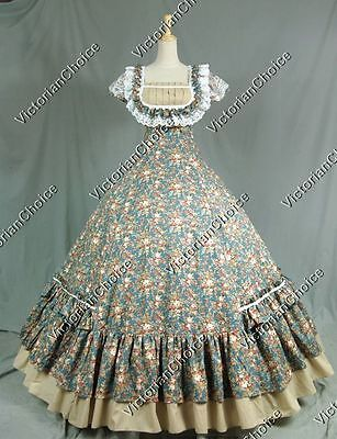 Victorian Southern Belle Little House Prairie Dress Theatrical Costume 211 S