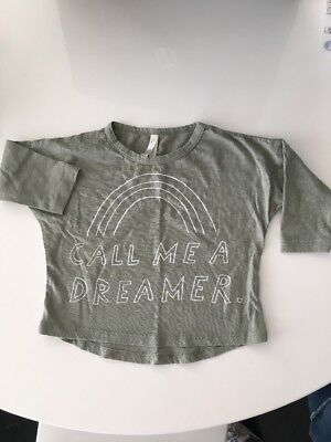 Rylee and Cru Call Me A Dreamer Tee Shirt 3-6 Months Boy Or Girl Baby Infant