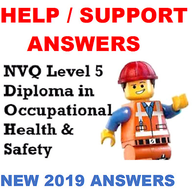 Occupational Health and Safety Practice Level 5 Diploma NEW AWARD 2018 ANSWERS