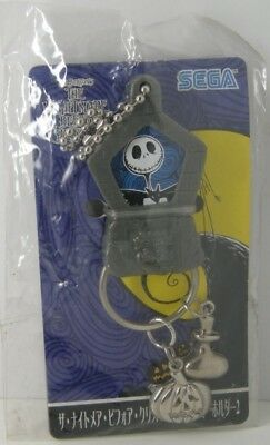Nightmare Before Christmas Jack Metal Danglies Keychain Keyring SEGA figure