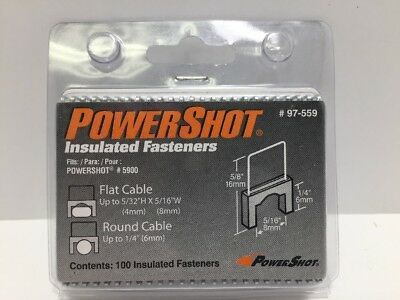 Arrow Fastener 97-559 5/16-Inch Insulated Staples for PowerShot 5900