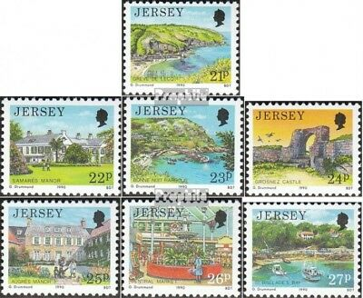 united kingdom - Jersey 501-507 (complete issue) fine used / cancelled 1990 View