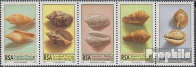 Never Hinged Unmounted Mint South Africa 979-983 Five Strips complete.issue.