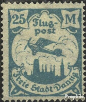 Gdansk 133 Favor devaluation fine used / cancelled 1923 Airmail