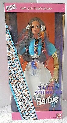 Native American Barbie Special Edition Dolls of the World Collection 11609