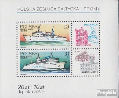 Poland block98 (complete issue) unmounted mint / never hinged 1986 Polish Baltic