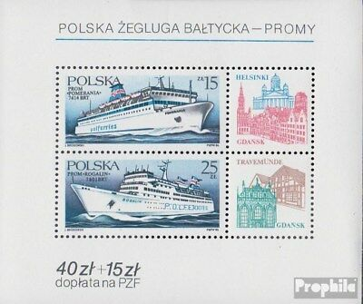 Poland block99 (complete issue) unmounted mint / never hinged 1986 Polish Baltic