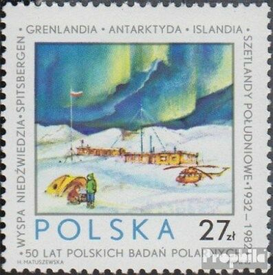 Poland 2832 (complete issue) unmounted mint / never hinged 1982 Polish Polar