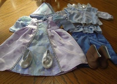 American Girl Bitty Baby Twin Prince And Princess Outfit Retired