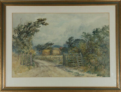 Early 20th Century Watercolour - Country Path