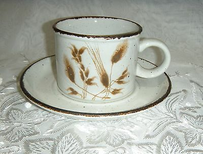 Midwinter Stonehenge Wild Oats Stoneware Cup and Saucer