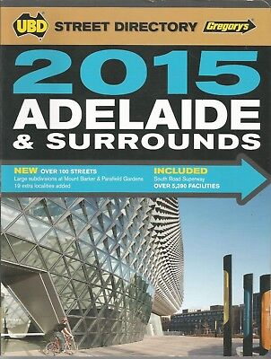 Adelaide 2015 Street Directory (Gregory's)