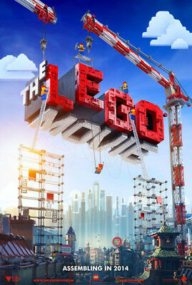 THE LEGO MOVIE great original adv D/S 27x40 movie poster (s01)