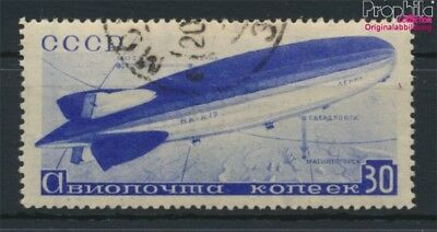 Soviet Union 487Y fine used / cancelled 1934 Airships (9109082
