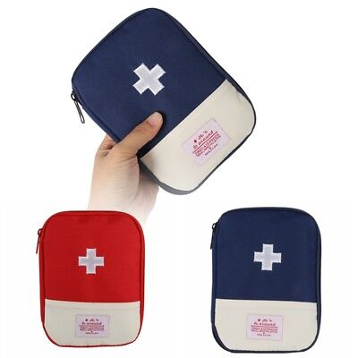 Outdoor Camping Hiking Survival Travel Primo soccorso First Aid Kit Bag Pouch