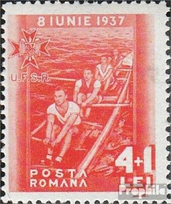 Romania 533 with hinge 1937 Sportverbände