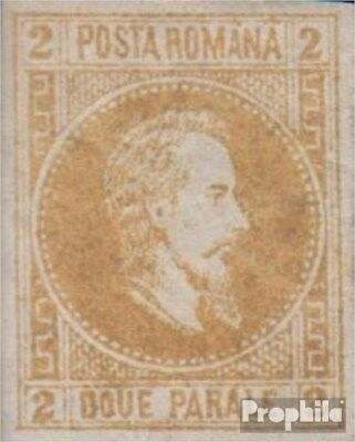 Romania I, not spent with hinge 1864 Cuza