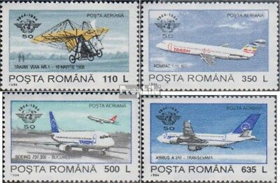 Romania 5013Y-5016Y (complete issue) unmounted mint / never hinged 1994 Civil Av
