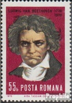 Romania 2895 (complete issue) unmounted mint / never hinged 1970 Ludwig van Beet