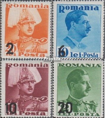 Romania 543-546 (complete issue) unmounted mint / never hinged 1937 Heir Apparen