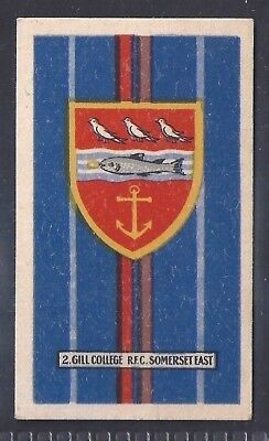 Kramers-Badges Of South African Rugby-#02- Gill College - Rondavel