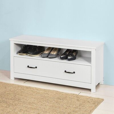 sobuy meuble chaussure banc banquette coffret commode de rangement fsr23 fr eur 79 95. Black Bedroom Furniture Sets. Home Design Ideas