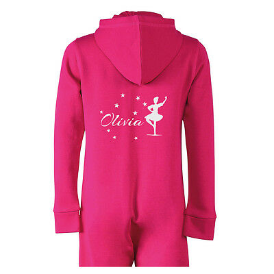 Personalised Highland Dancing All in One with your Name and Initials Pyjamas